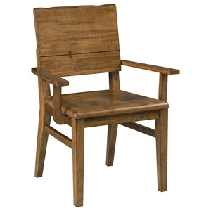 Kincaid Furniture Traverse Woodcrafter's Arm Chair