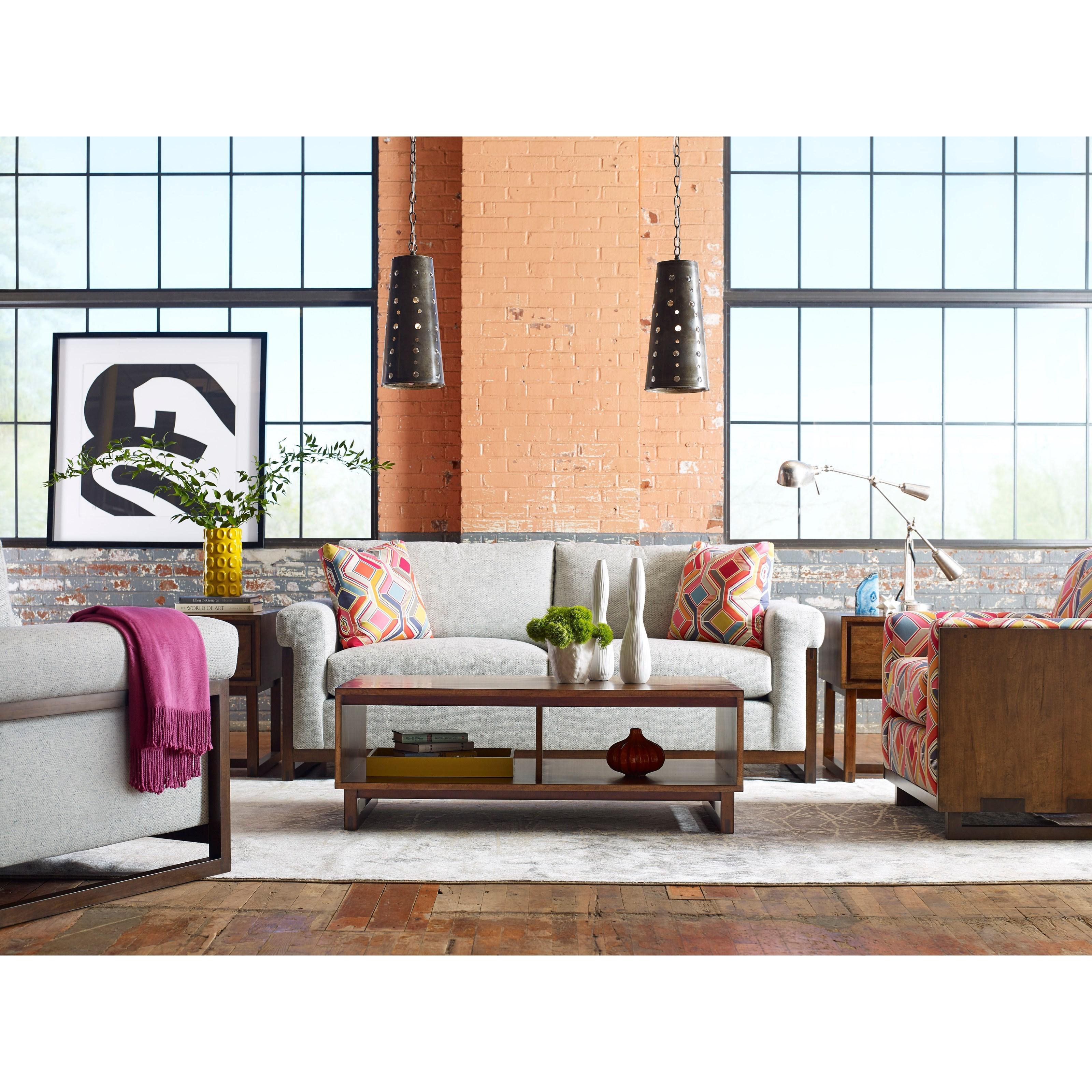 Kincaid Furniture Traverse 660-910 Carpenter Modern
