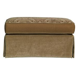 Kincaid Furniture Tulsa  Oversized Ottoman