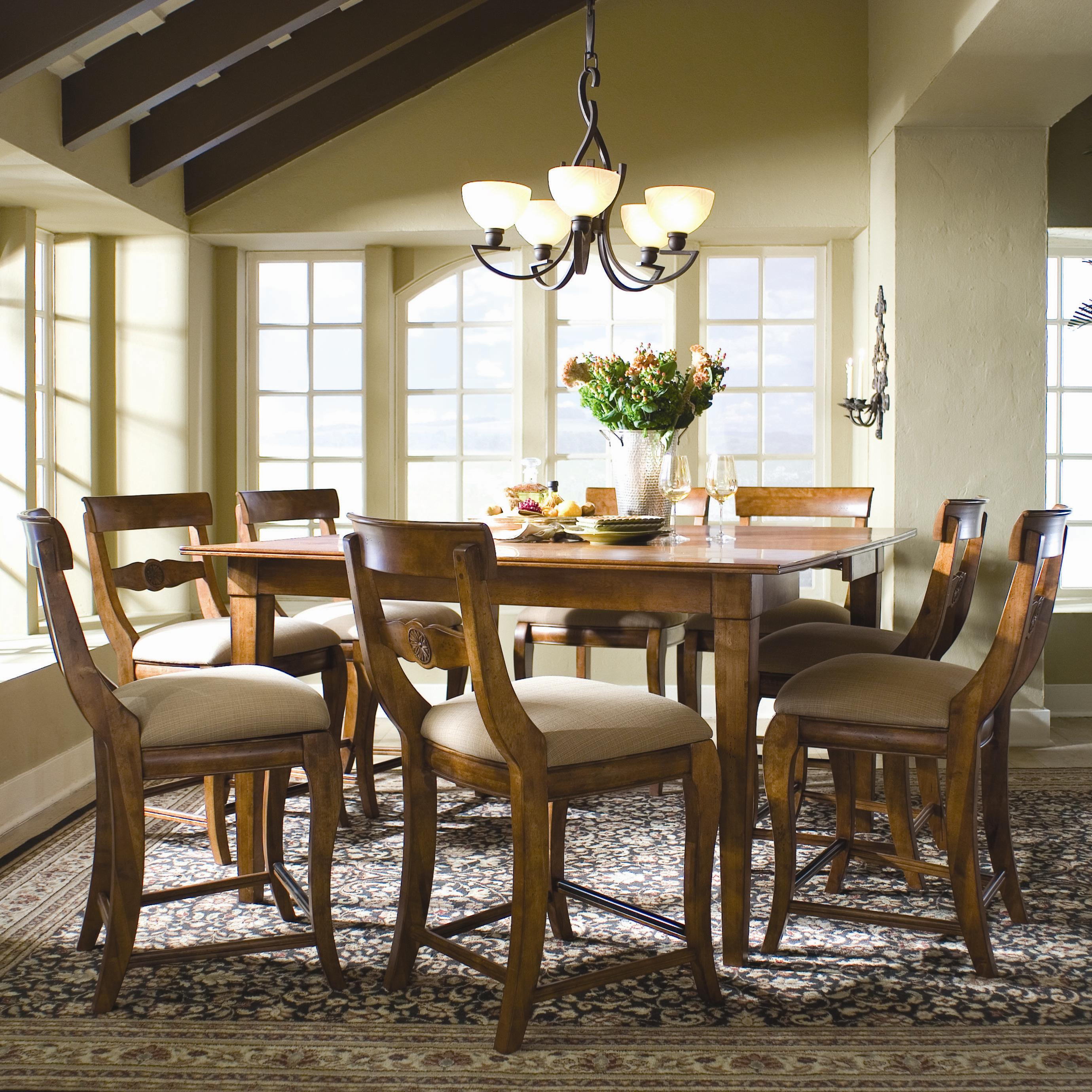 Tuscano 9 Piece Pub Dining Set By Kincaid Furniture