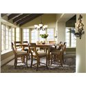 Kincaid Furniture Tuscano Counter Height Dining Table - 96-058 - Shown in Room Setting
