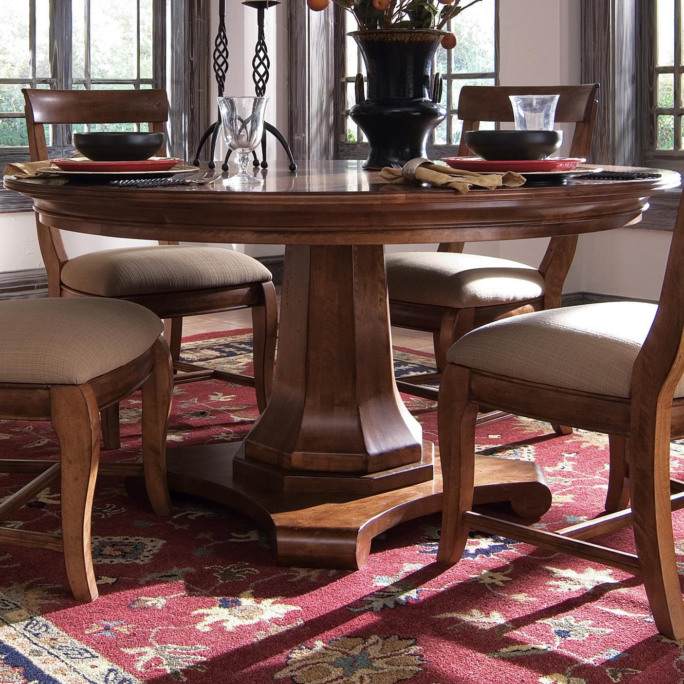 Kincaid Furniture Tuscano 58 Round Dining Table Item Number 96002 052