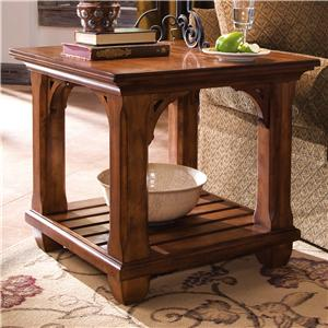 Kincaid Furniture Tuscano Square Lamp Table