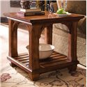 Morris Home Furnishings Tuscano Square Lamp Table - Item Number: 96021