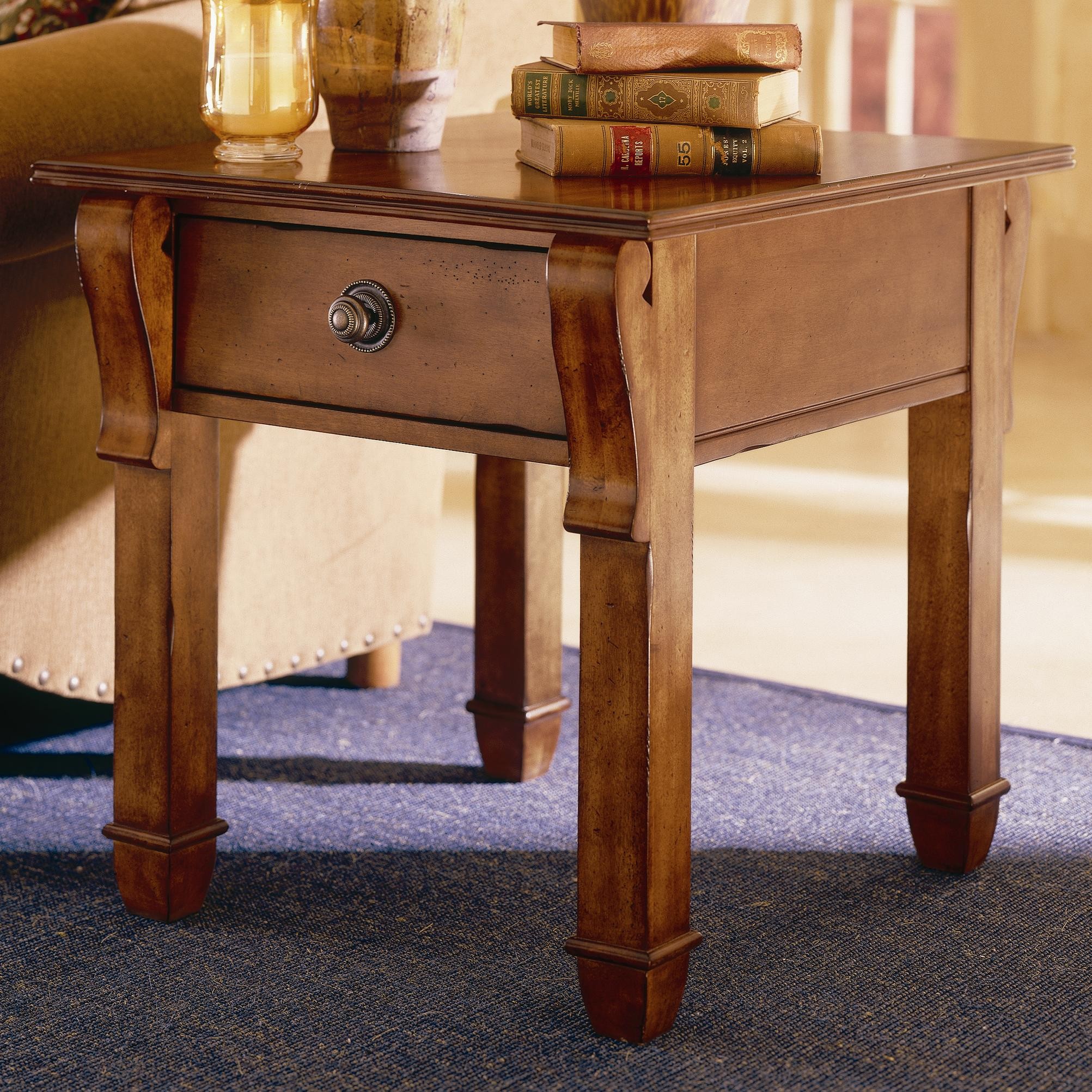 Kincaid Furniture Tuscano Drawer End Table - Item Number: 96022