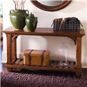 Kincaid Furniture Tuscano Rectangular Sofa Table with Shelf