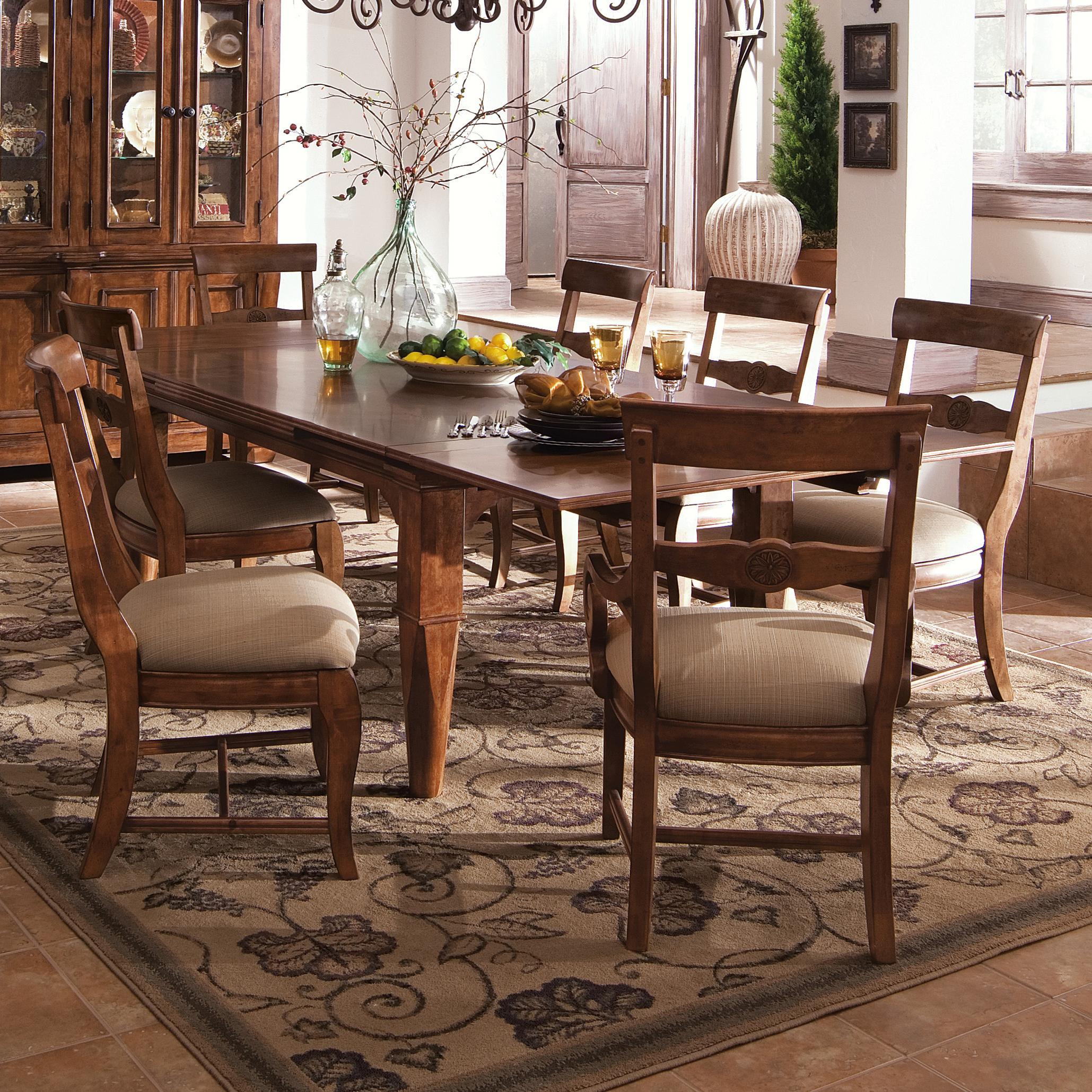 Kincaid Furniture Tuscano Refectory Leg Table Ahfa