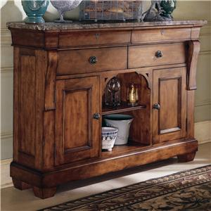 Kincaid Furniture Tuscano Marble Top Sideboard
