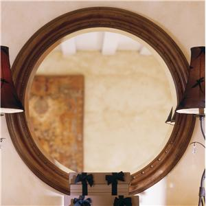 "Kincaid Furniture Tuscano 38"" Round Mirror"