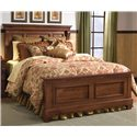 Kincaid Furniture Tuscano California King Panel Headboard & Footboard Bed - Bed Shown May Not Represent Size Indicated