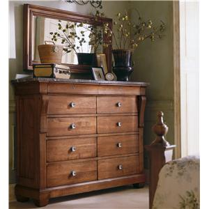 Kincaid Furniture Tuscano Magna Chest & Mirror