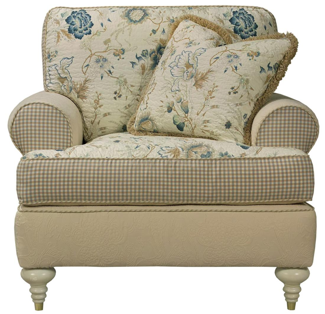 Kincaid Furniture Tuscany Tradtional Upholstered Chair Johnny Janosik Upholstered Chair