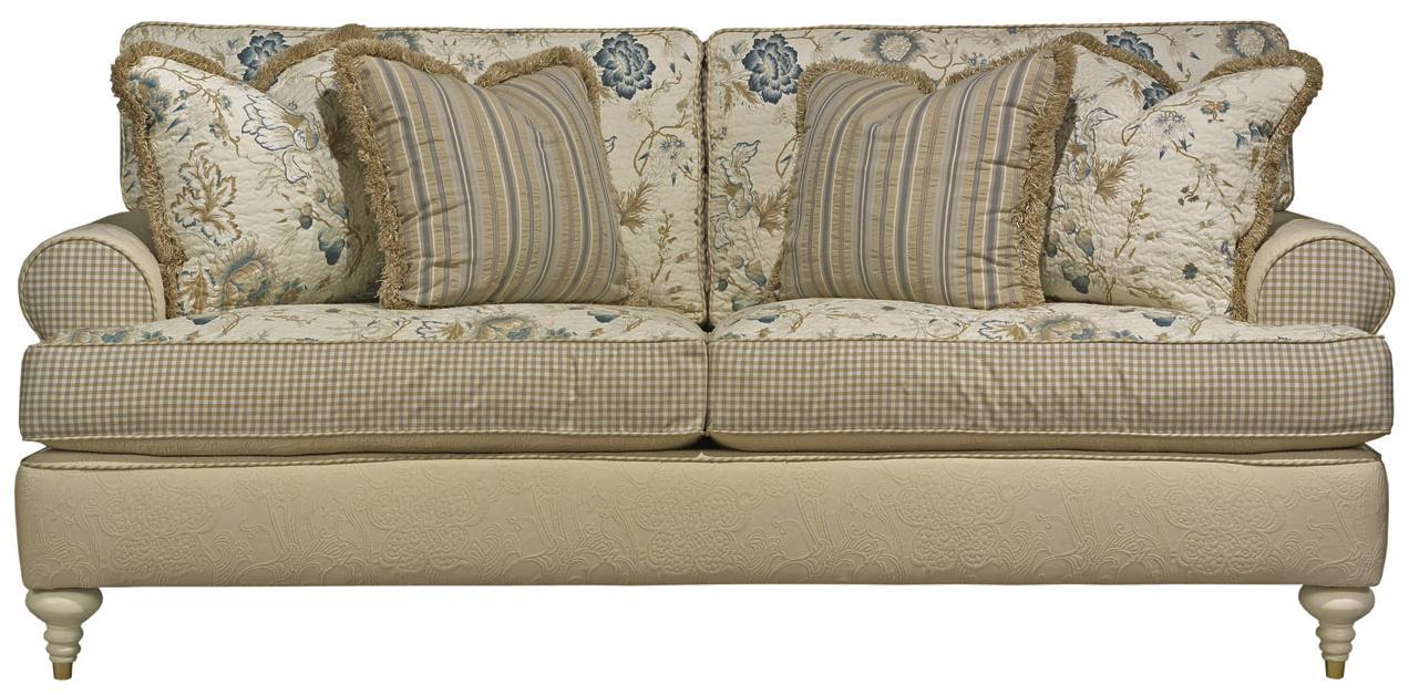 Kincaid Furniture Tuscany Traditional Stationary Sofa