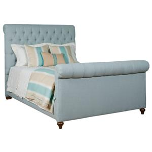 Kincaid Furniture Upholstered Beds Queen Belmar Upholstered Bed