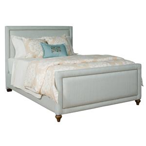 Kincaid Furniture Upholstered Beds Lacey Queen Upholstered Bed