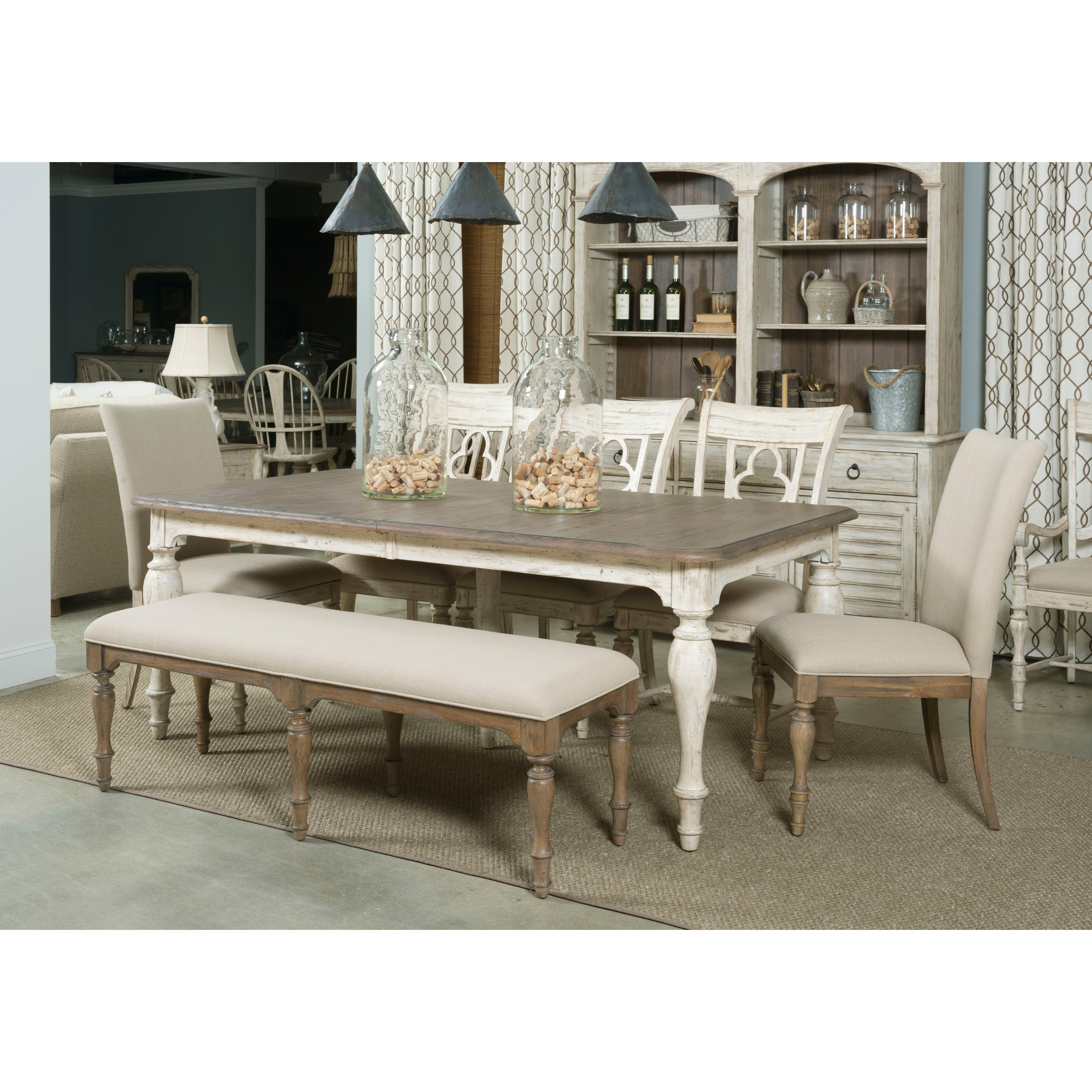 Kincaid Furniture Weatherford Casual Dining Room Group - Item Number: 75 Dining Room Group 5