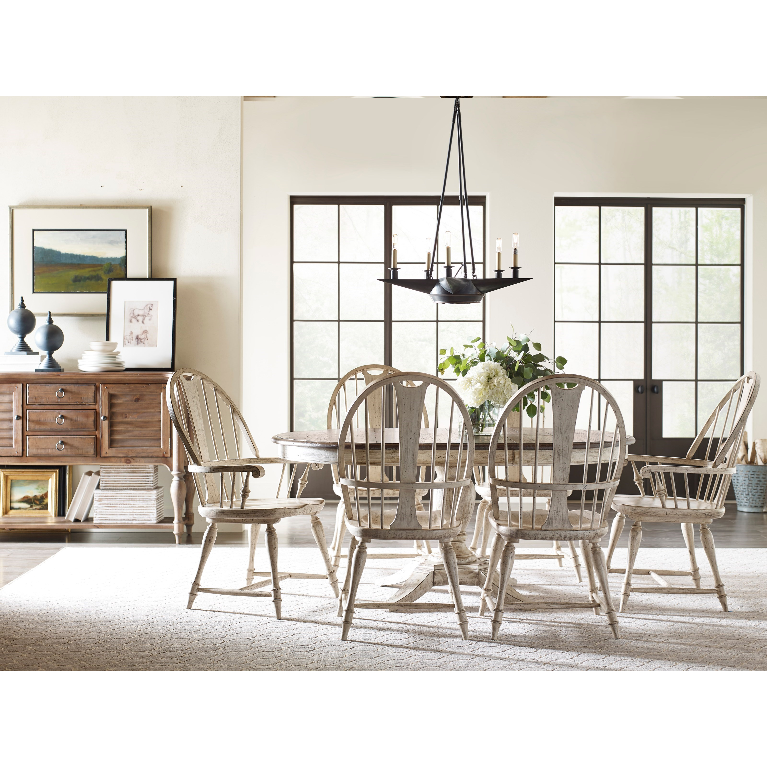 Kincaid Furniture Weatherford Formal Dining Room Group   Item Number: 75 Dining  Room Group 7
