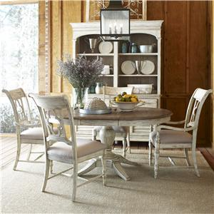 Kincaid Furniture Weatherford 5 Piece Dining Set
