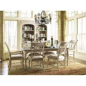 Kincaid Furniture Weatherford 7 Piece Dining Set  sc 1 st  Johnny Janosik & Table and Chair Sets | Delaware Maryland Virginia Delmarva Table ...