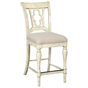 Kincaid Furniture Weatherford Kendal Counter Height Side Chair