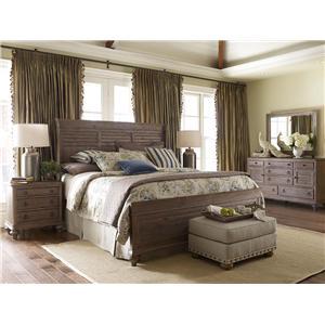 Kincaid Furniture Weatherford California King Bedroom Group