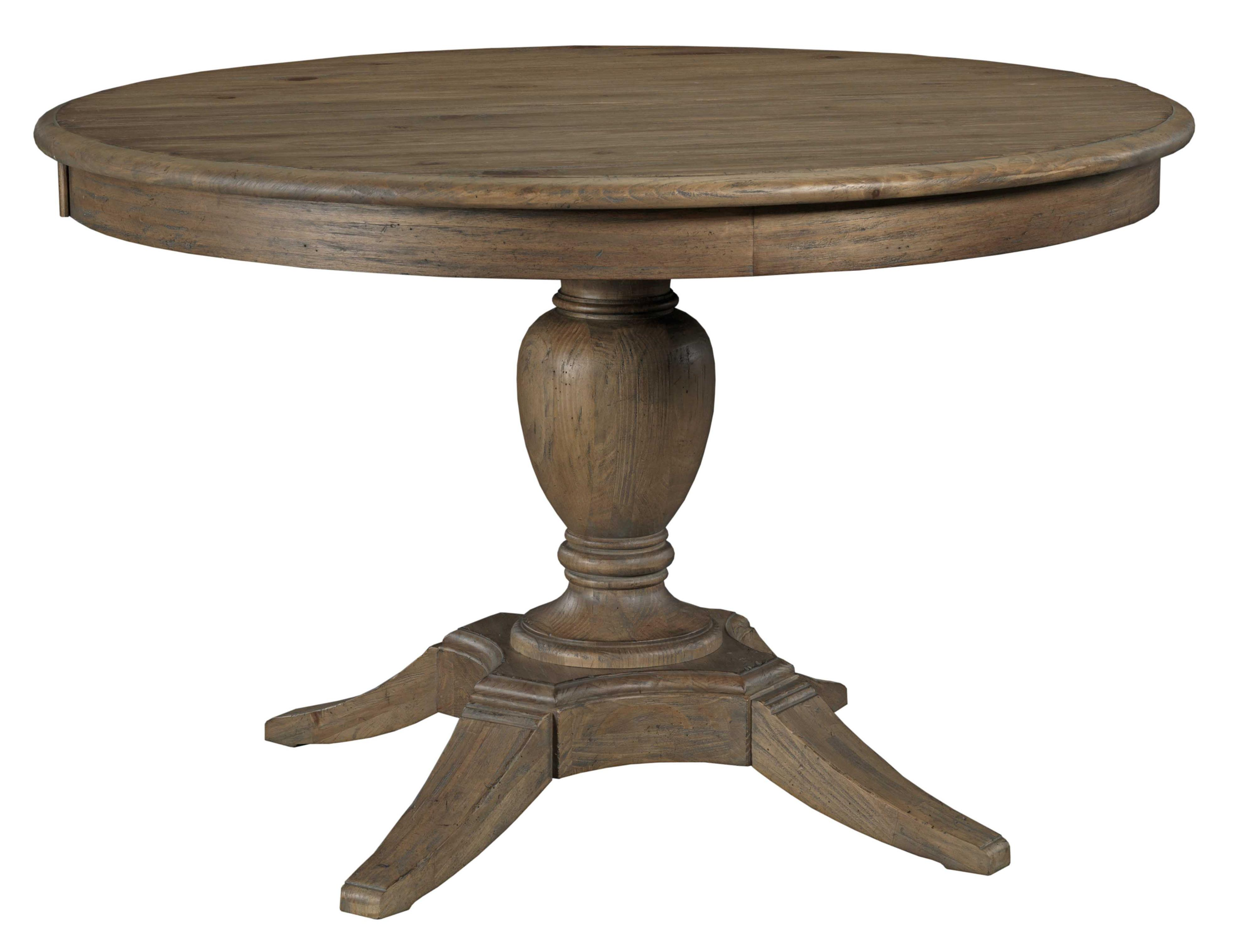 Weatherford Round Dining Table by Kincaid Furniture at Hudson's Furniture