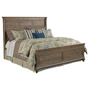 Kincaid Furniture Weatherford Shelter California King Bed Package