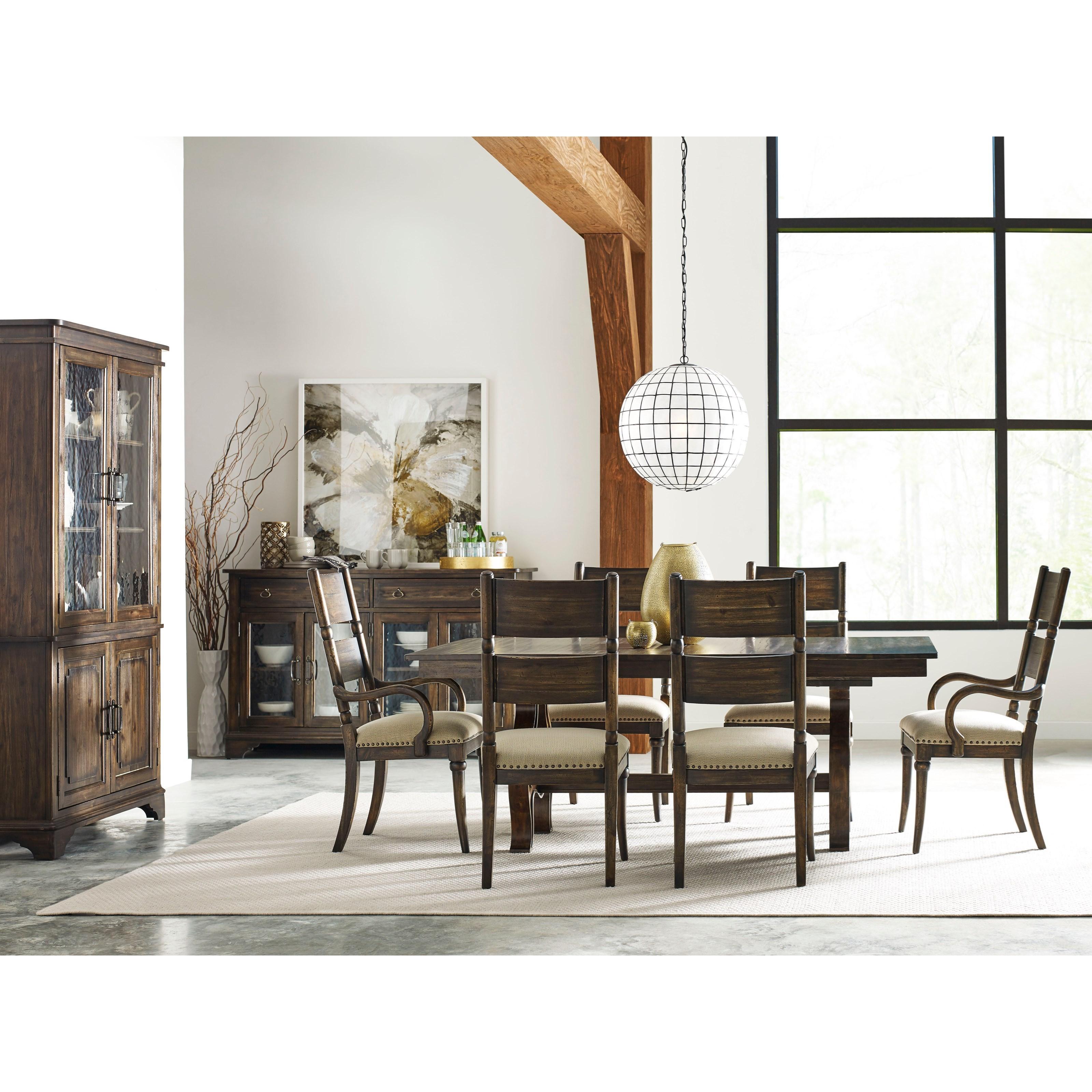 Kincaid Dining Room: Kincaid Furniture Wildfire Nine Piece Formal Dining Room