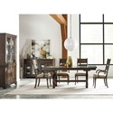 Kincaid Furniture Wildfire Nine Piece Formal Dining Room Group