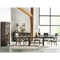 Kincaid Furniture Wildfire Eleven Piece Formal Dining Room Group