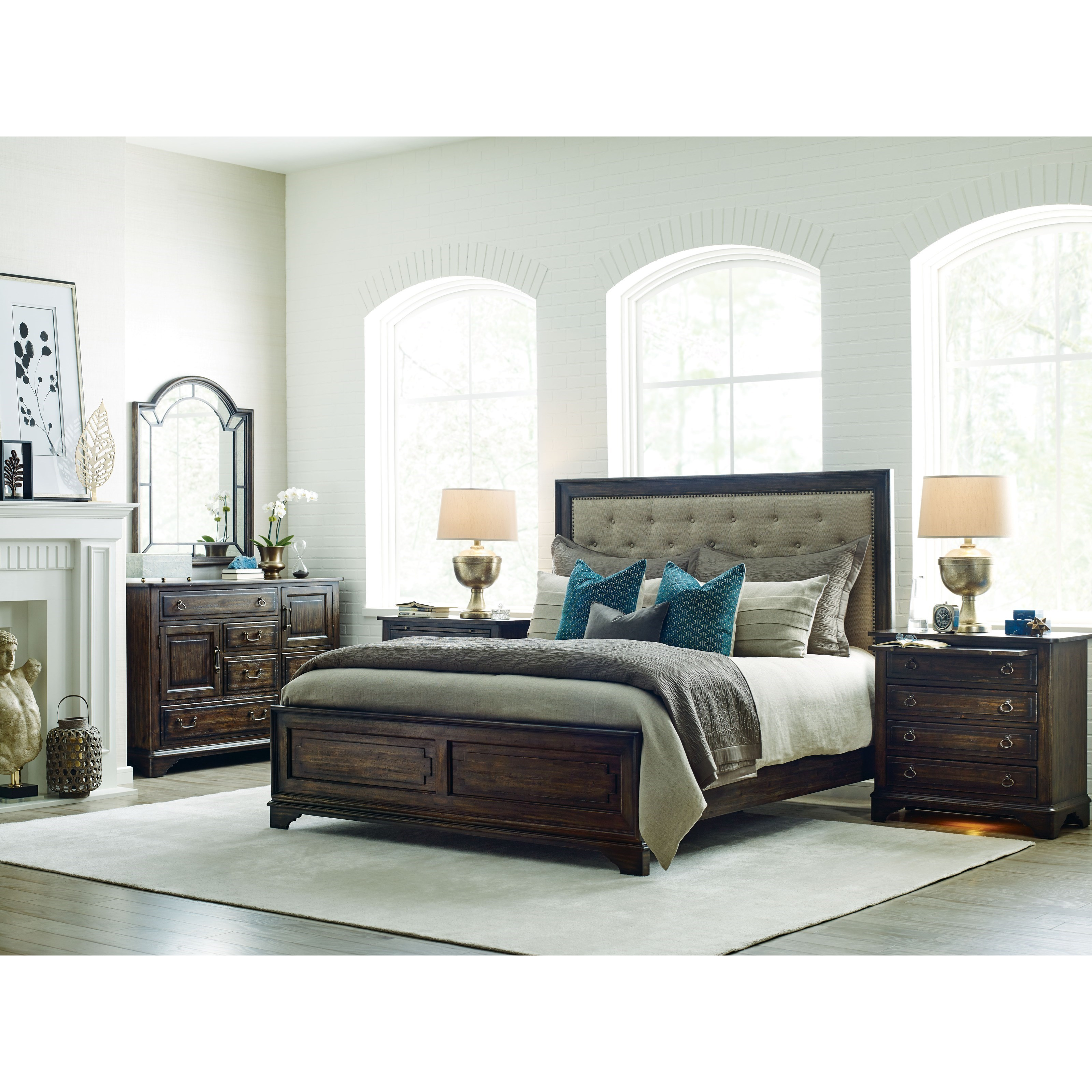 Kincaid furniture wildfire queen bedroom group belfort - Kincaid bedroom furniture for sale ...