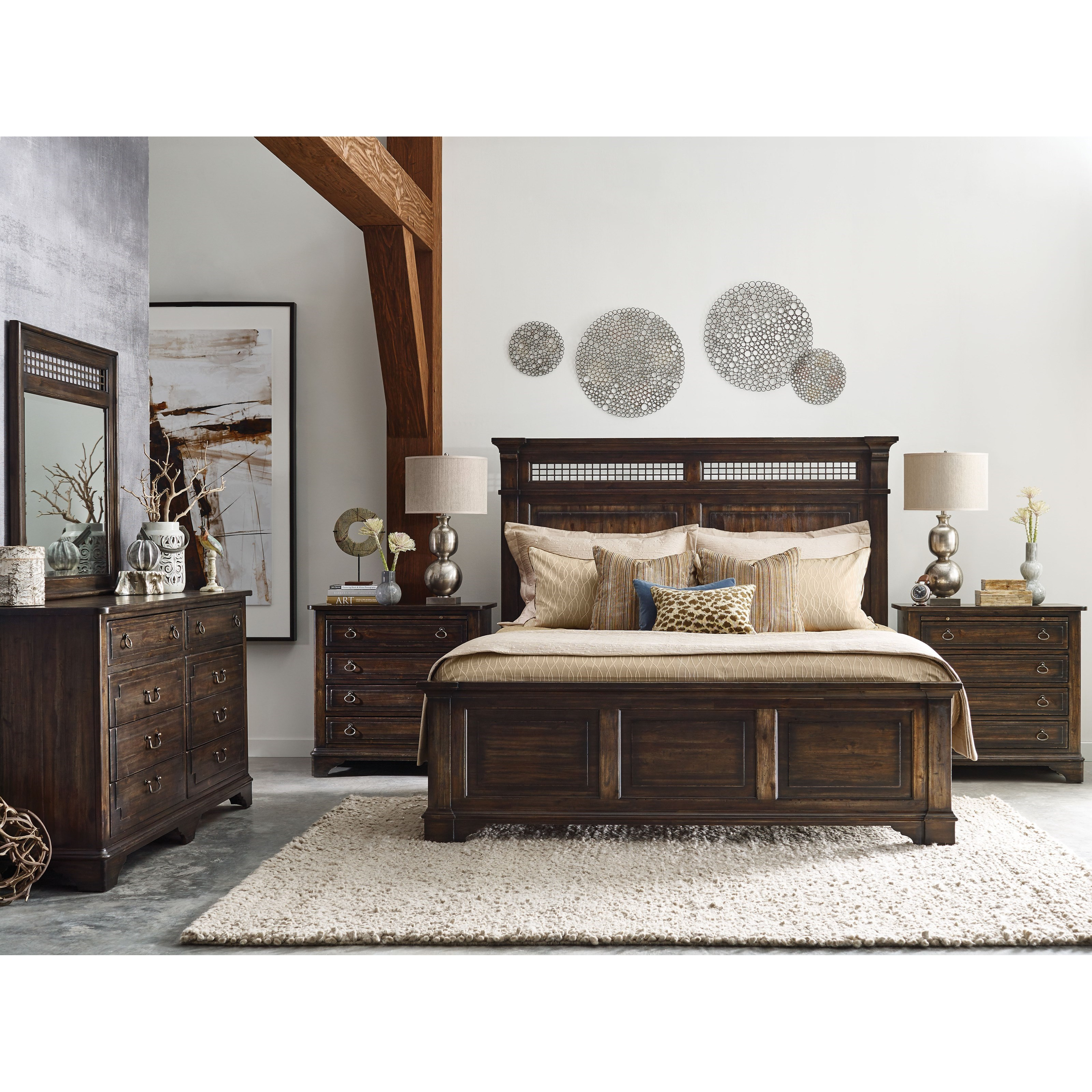Kincaid Furniture Wildfire Queen Bedroom Group Becker