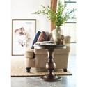 Kincaid Furniture Wildfire Vintage Round Lamp Table