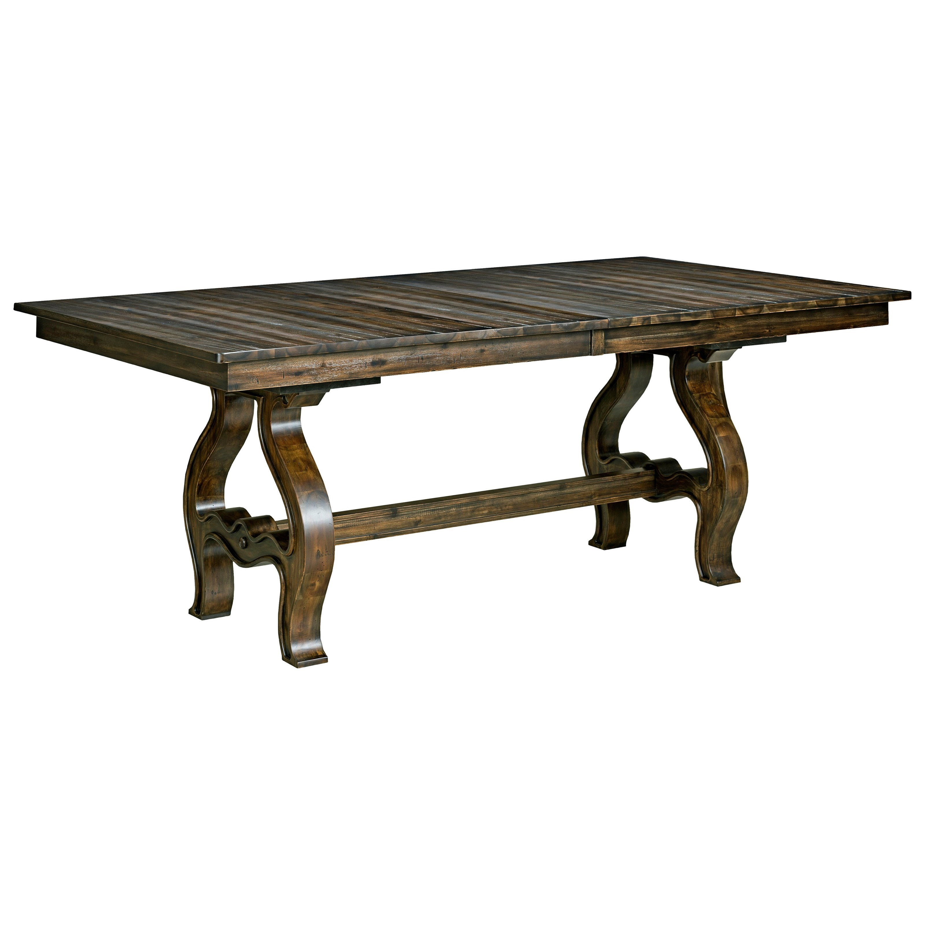 Kincaid Furniture Wildfire Trestle Table Complete Item Number 86 056p