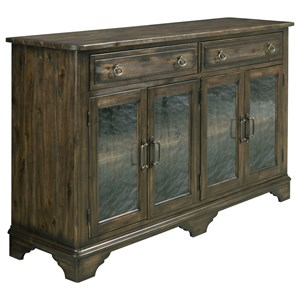 Kincaid Furniture Wildfire Seed Glass Sideboard