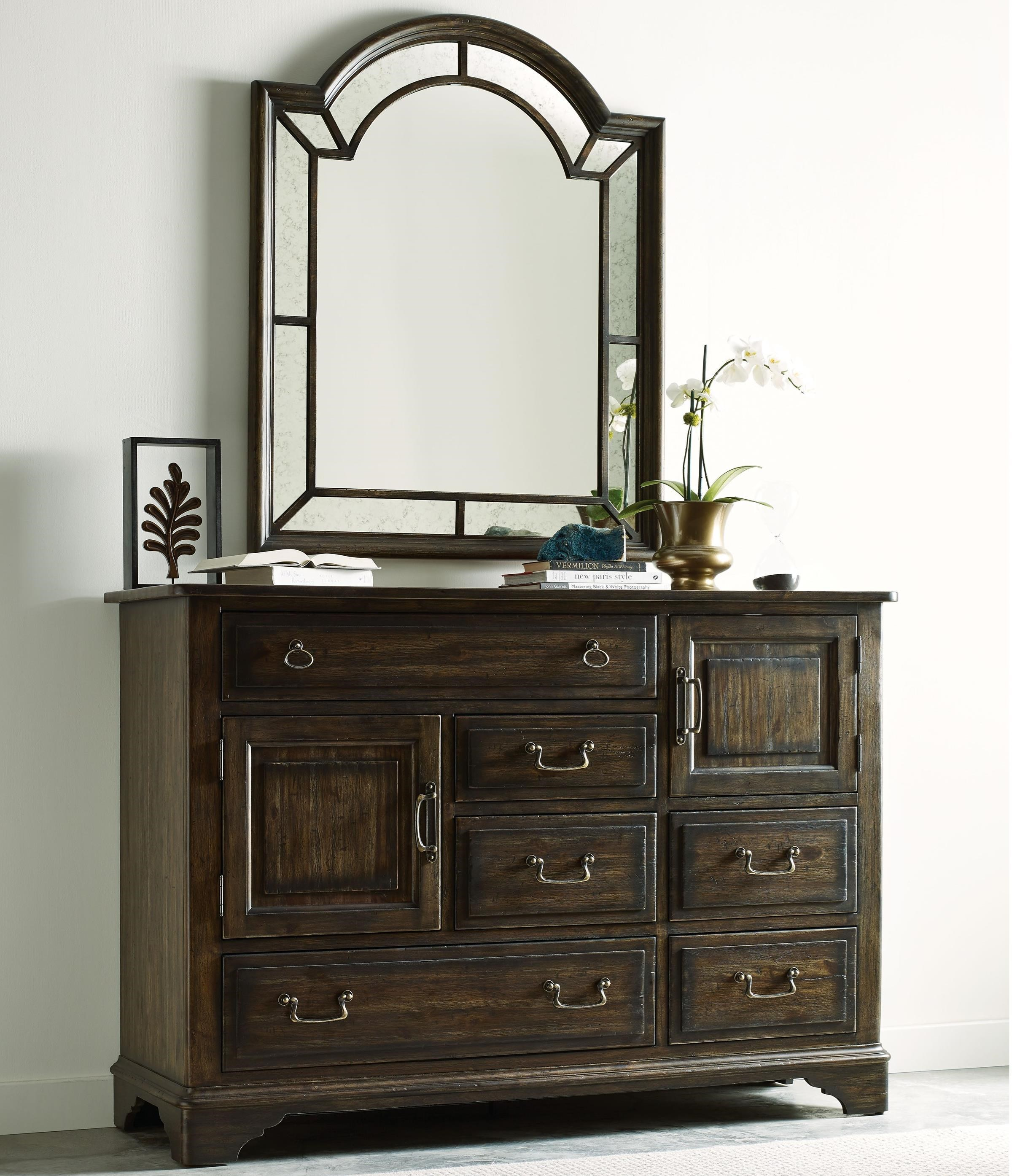 Kincaid Furniture Wildfire Dresser & Mirror Set - Item Number: 86-161+86-114