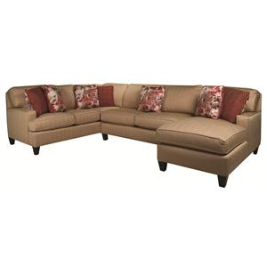 Morris Home Furnishings Emily Emily 3-Piece Sectional