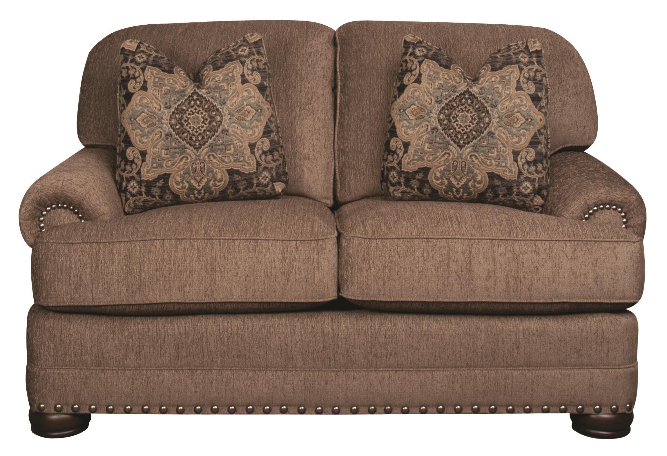 Morris Home Furnishings Duke Duke Loveseat - Item Number: 104275753