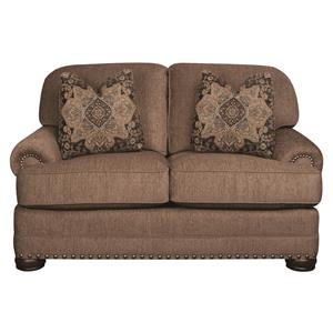 Morris Home Furnishings Duke Duke Loveseat