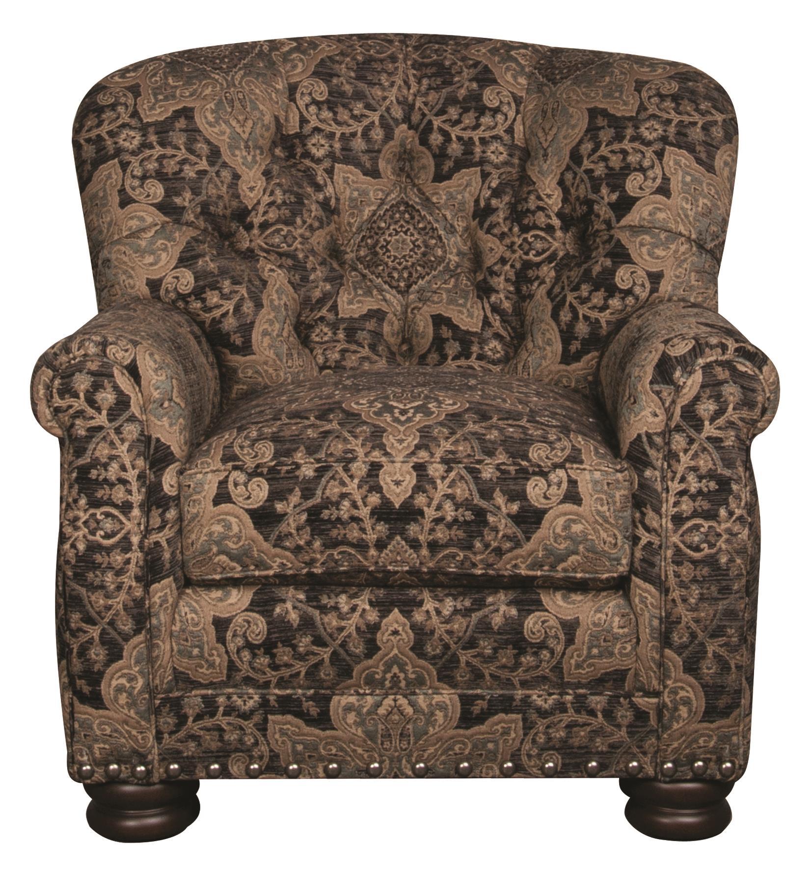Morris Home Furnishings Duke Duke Accent Chair - Item Number: 109275758