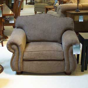 "Biltmore Great Rooms 9500 48"" Loose Pillow Back Chair"