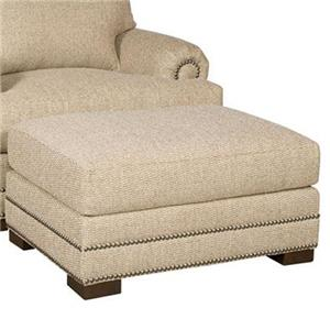 Morris Home Furnishings Barclay Ottoman