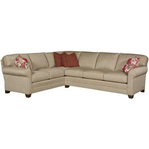 King Hickory Bentley Customizable Sectional