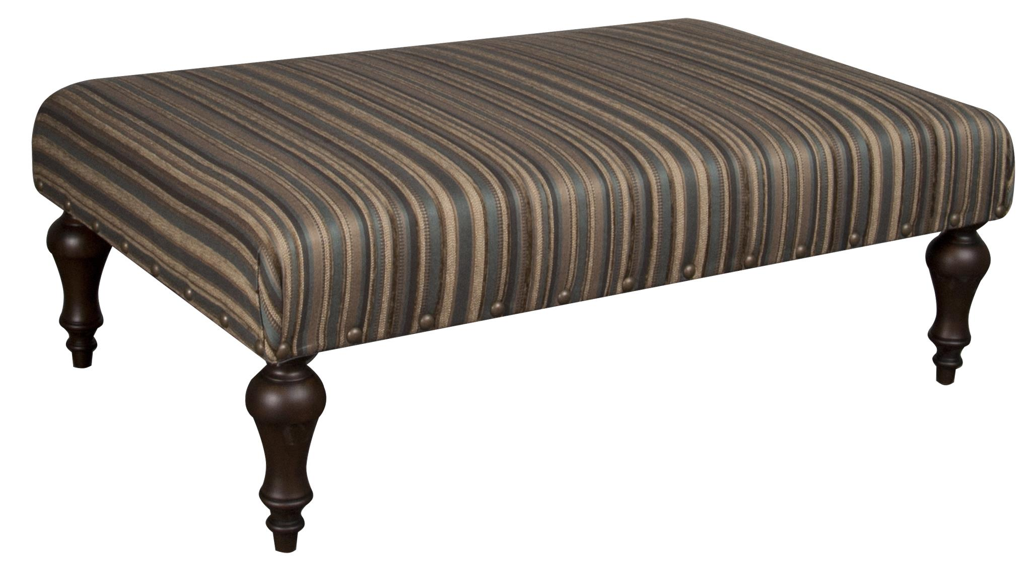 Morris Home Furnishings Bexley Bexley Ottoman - Item Number: 350412791