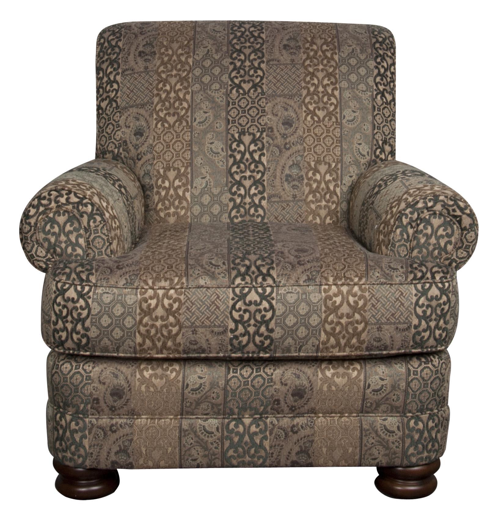 Morris Home Furnishings Bexley Bexley Chair - Item Number: 768214303