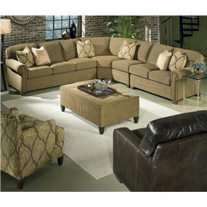 4 Piece Customizable Sectional