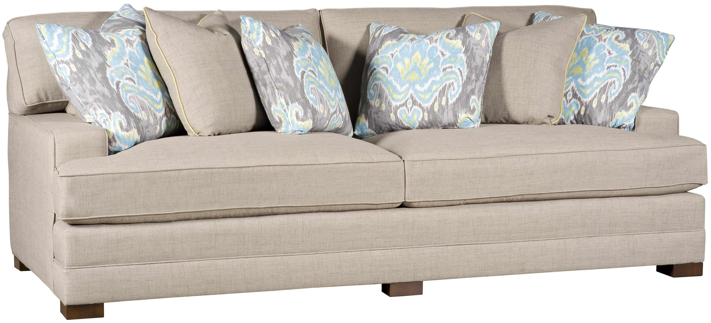 Casbah Casbah Fabric Sofa by King Hickory at Saugerties Furniture Mart