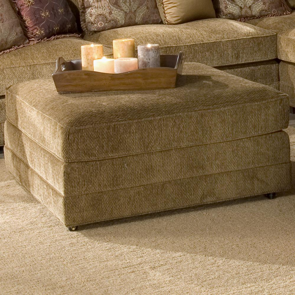 Casbah Ottoman by King Hickory at Saugerties Furniture Mart
