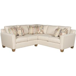 Morris Home Furnishings Darby Sectional Sofa