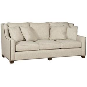 3 Seater Sofa With Nailhead Trim